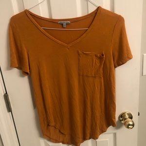 Mustard Charlotte Russe blouse